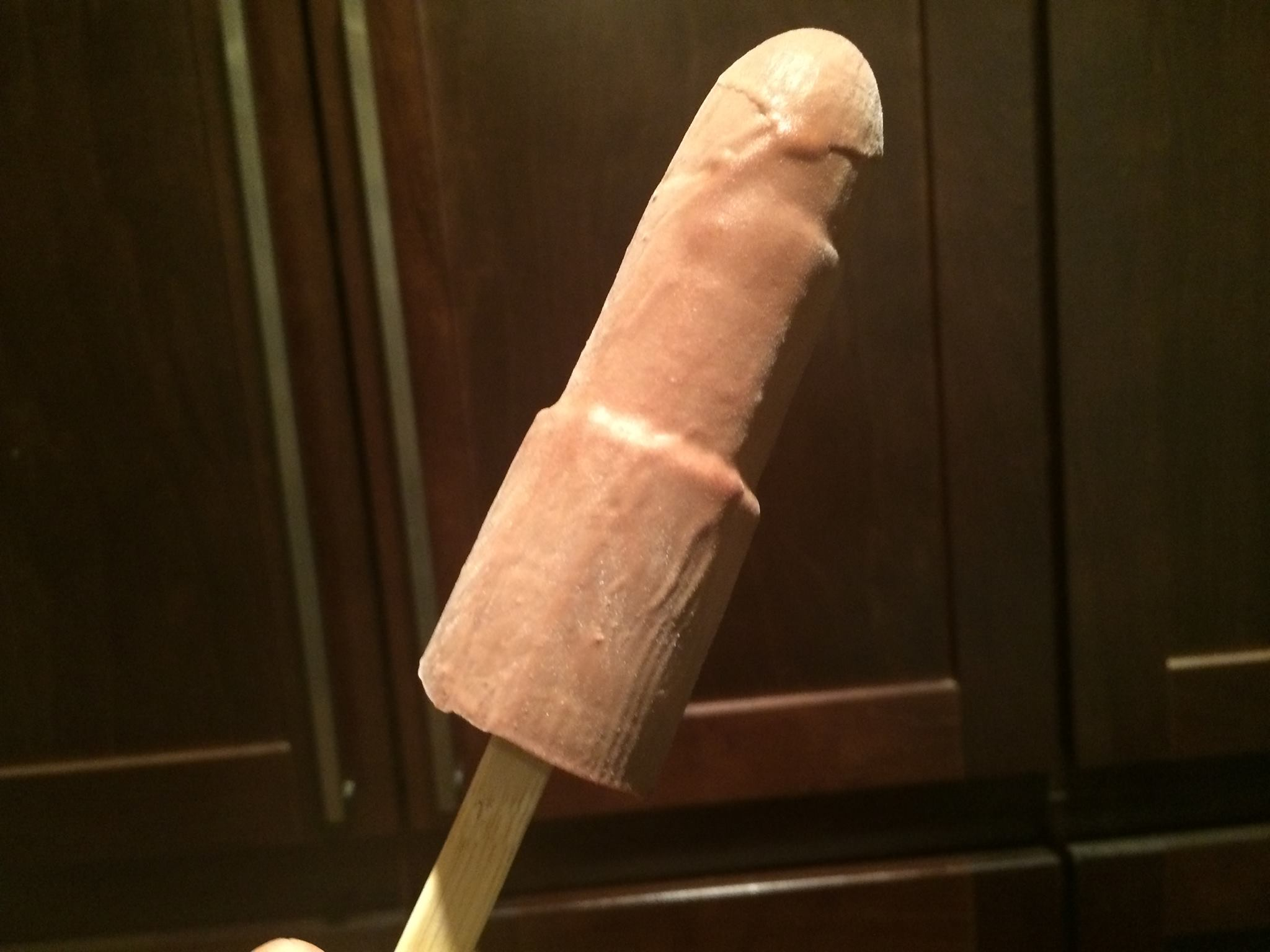 A bit phallic, but so delicious! Fudgesicles!